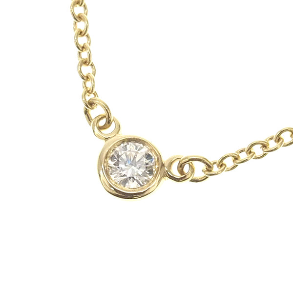 Gold Tiffany By The Yard Necklace