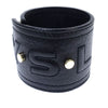 Black YSL Leather Cuff
