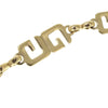 Gold Givenchy Double G Link Necklace