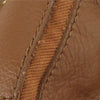Brown YSL Muse Two Leather Satchel Bag