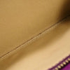 Purple Bottega Veneta Intrecciato Leather Long Wallet