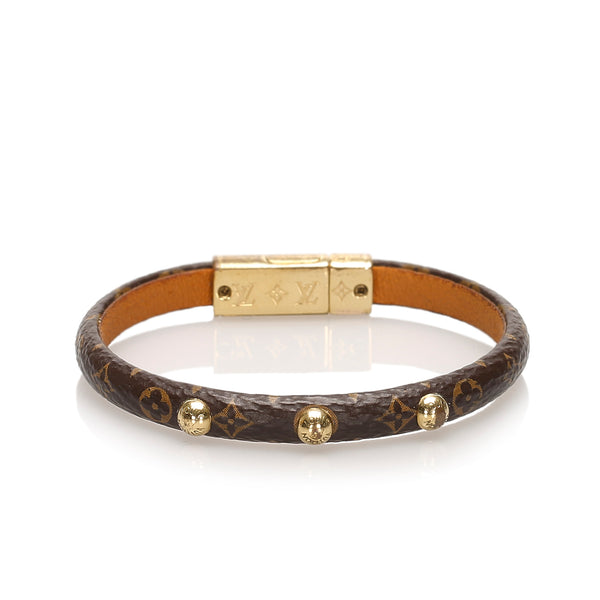 Brown Louis Vuitton Monogram Yummy Bracelet
