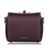 Purple Alexander McQueen Box 16 Leather Crossbody Bag