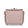 Light Pink Alexander McQueen Box 16 Leather Crossbody Bag