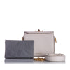 Lavender Alexander McQueen Box 19 Leather Crossbody Bag