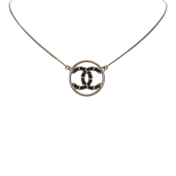 Gold Chanel CC Necklace