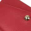 Red Mulberry Leather Long Wallet