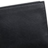Black Prada Bi-Fold Saffiano Leather Small Wallet