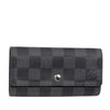 Black Louis Vuitton Damier Graphite Car Key Holder