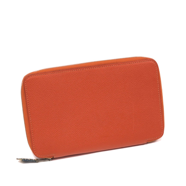 Orange Hermes Azap Epsom Notebook Cover