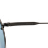Blue Armani Round Tinted Sunglasses