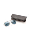 Blue Armani Square Tinted Sunglasses