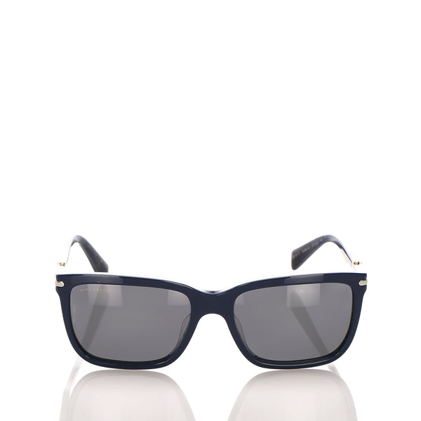 Gray Bvlgari Square Tinted Sunglasses