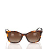 Brown Chanel Bijou Square Tinted Sunglasses