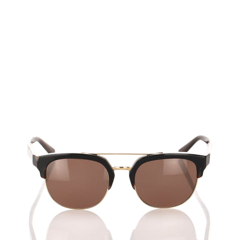 Brown Dolce&Gabbana Square Tinted Sunglasses