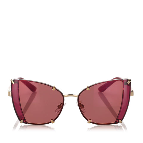 Red Dolce&Gabbana Butterfly Tinted Sunglasses