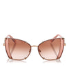 Brown Dolce&Gabbana Butterfly Tinted Sunglasses