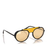 Yellow Dolce&Gabbana Round Tinted Sunglasses
