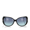 Black Tiffany Butterfly Tinted Sunglasses