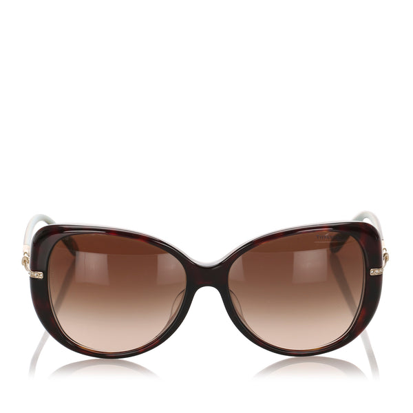 Brown Tiffany Butterfly Tinted Sunglasses