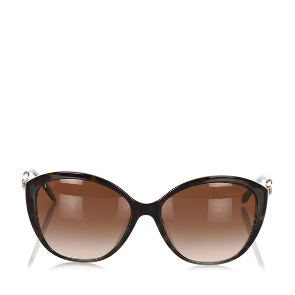 Brown Tiffany Square Tinted Sunglasses