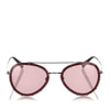 Red Valentino Crystal Embellished Aviator Sunglasses