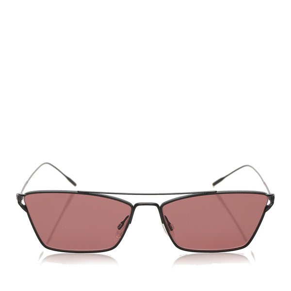 Red Oliver Peoples Evey Tinted Sunglasses
