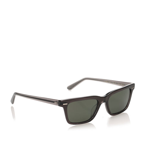 Black Oliver Peoples Oliver Sun Square Tinted Sunglasses