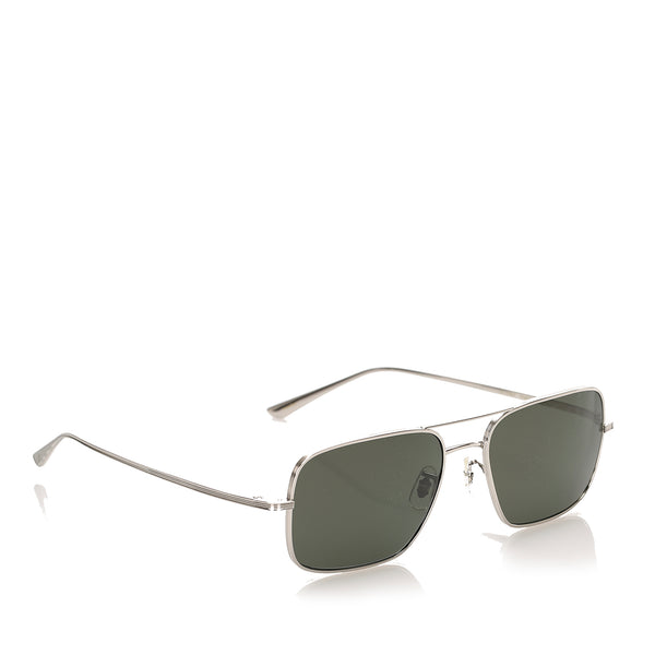 Black Oliver Peoples Victory LA Square Tinted Sunglasses