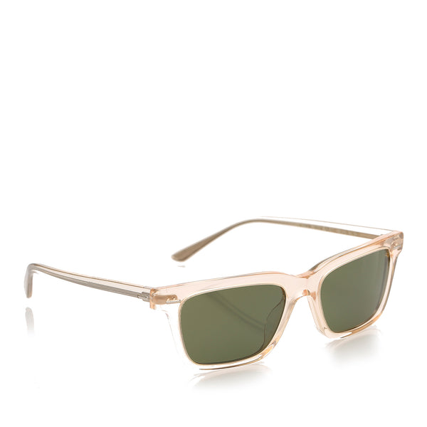 Black Oliver Peoples BA CC Square Tinted Sunglasses