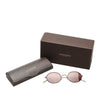 Red Oliver Peoples Shai Round Tinted Sunglasses
