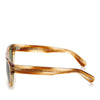 Green Oliver Peoples Keenan Square Tinted Sunglasses