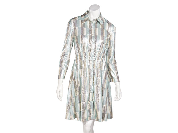 Multicolor Vivienne Hu Sequined Shirtdress