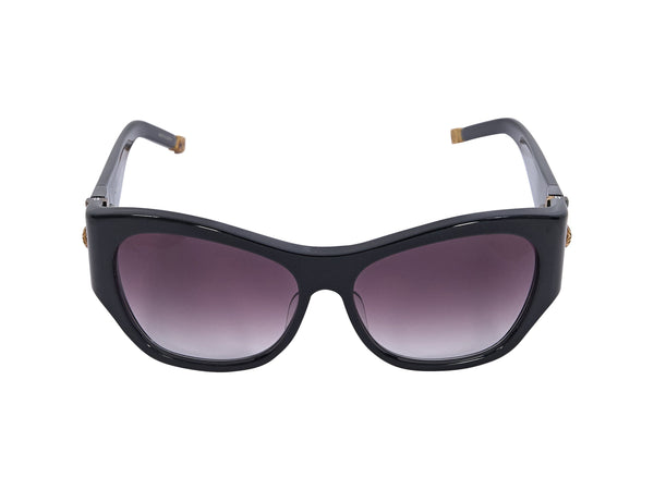 Black Shamballa Big Love Square Sunglasses
