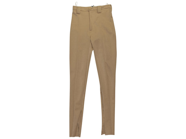 Gold 2016 Collection Balenciaga Stretch-Crepe Skinny Pants