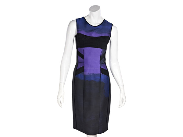 Multicolor Narcisco Rodriguez Sheath Dress