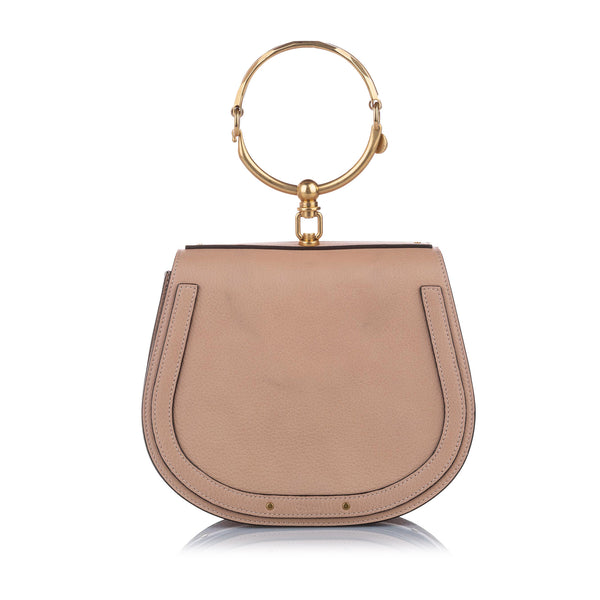 Tan Nile Leather Satchel Bag