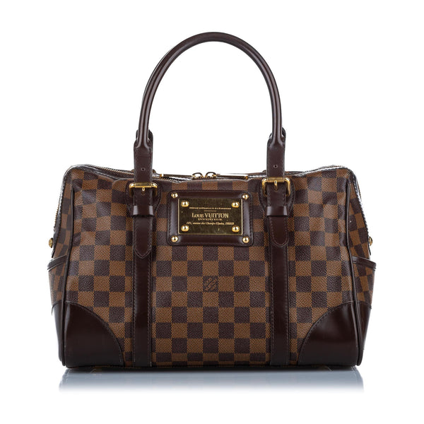 Brown Louis Vuitton Damier Ebene Berkeley Bag