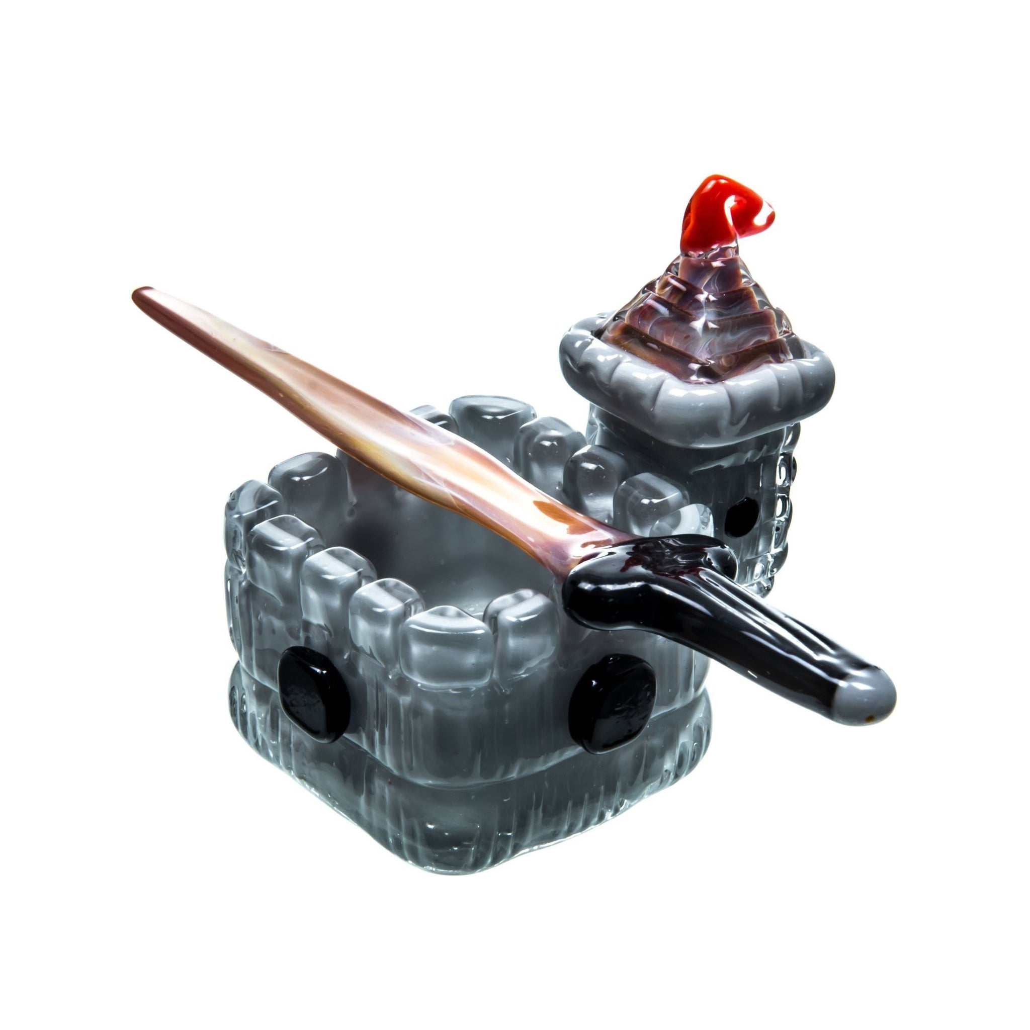 Castle Themed Dish & Dabber Set
