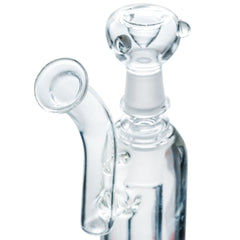 Slit Showerhead Perc Water Pipe