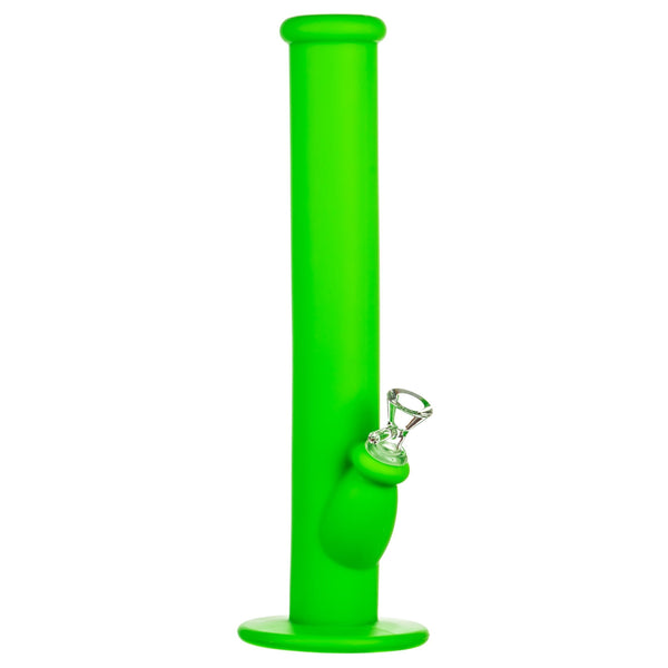 "14"" Silicone Straight Tube Bong"