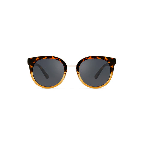 A. Kjaerbede Sunglasses Gray Demi Tortoise Yellow AC10342DTY