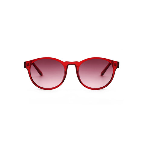 A. Kjaerbede Sunglasses Marvin Red Transparent KL1708RT