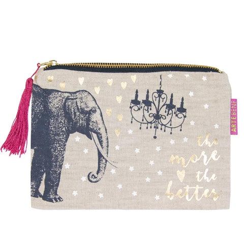 Artebene Cosmetic Bag Elephant 240188