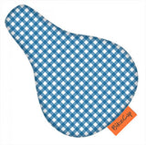 Bikecap Zadelhoes Kids Blue Checkmate 7115.03151KIDS