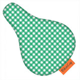 Bikecap Zadelhoes Kids Green Checkmate 7115.03161