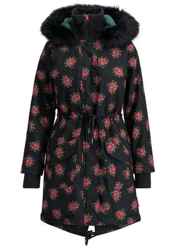 Blutsgeschwister Winter Wonder Woods Parka Queens Rose Black 001193441-001