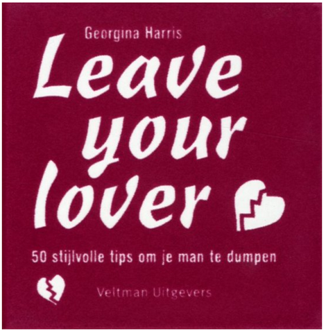 Boek Leave Your Lover 9789048303120