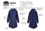Danefae Jane Softshell Dark Slate 10360-2454.