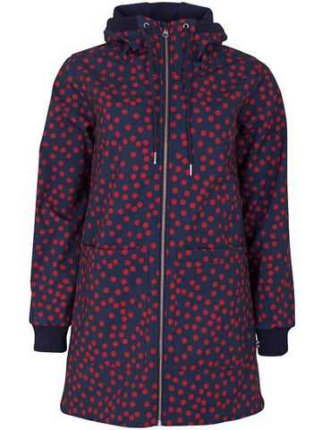 Danefae Laura Softshell Navy Red Fundots 11572-3097
